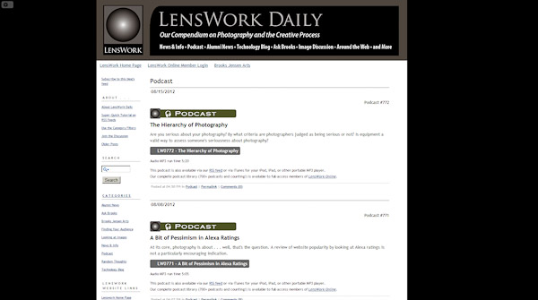 LensWork Photography and the Creative Process