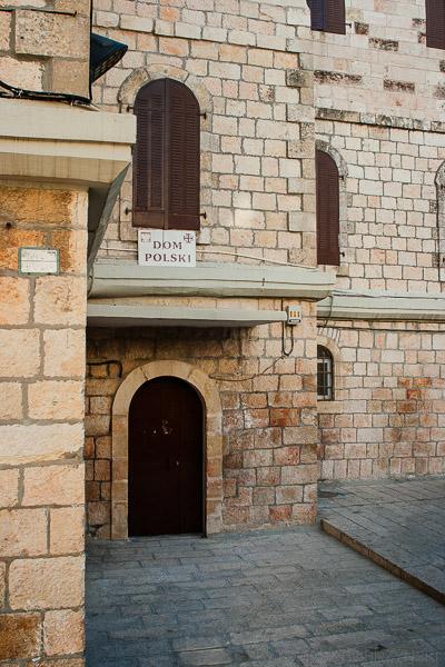 Stary Dom Polski w Jerozolimie