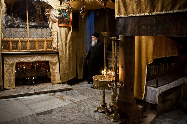 Stajenka betlejemnska (Grota Narodzenia) - miejsce narodzenia Jezusa
