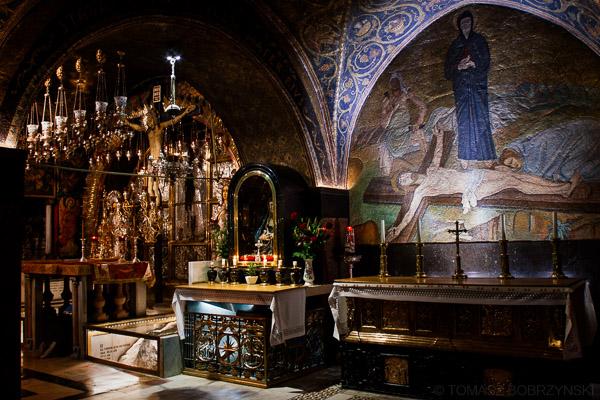 Kalwaria czyli Golgota - kaplica prawosławna i katolicka
