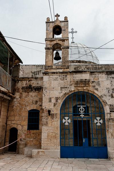 Zabytkowy kościół św. Jana Chrzciciela w Jerozolimie