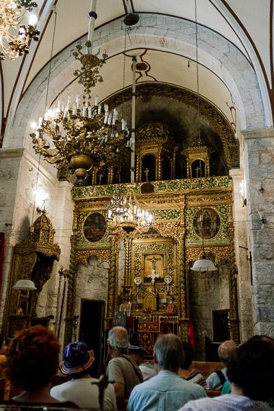 Wnętrze kościoła Świętego Marka w Jerozolimie