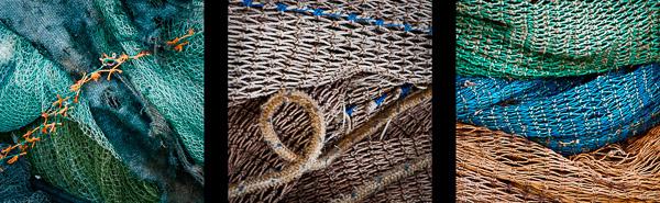 Sieci rybackie, port w Tel Aviv-Jaffie