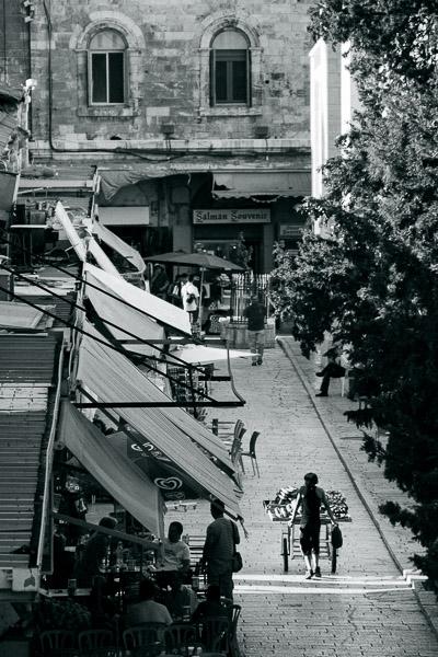 Stare Miasto w Jerozolimie - ulica Muristan